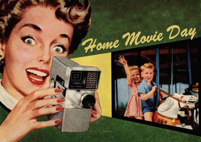 Home Movie Day label